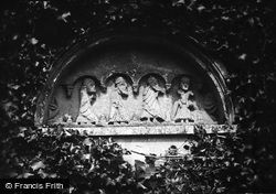 Church, The Tympanum Over The Old South Door 1890, Bishopsteignton