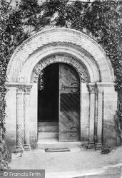 Church, West Door 1890, Bishopsteignton