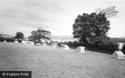 Wear Farm Caravan Park c.1960, Bishopsteignton