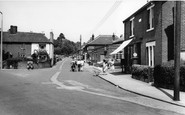 Bishopstoke, Post Office Corner c.1960