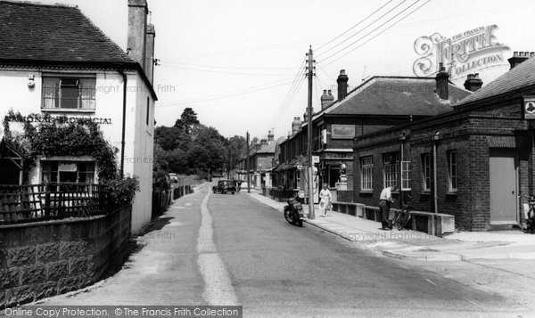 Bishopstoke, Spring Lane c.1960