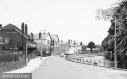 Bishopstoke, The 'anglers' And 'anchor' Inns c.1960