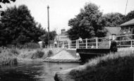 Bishopstoke, The Bridge c.1955