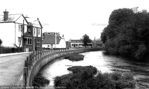 Photo of Bishopstoke, the River Itchen c1960