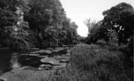 Bishopstoke, The River Itchen c.1965