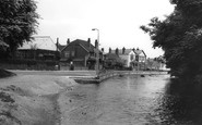 Bishopstoke, The Village And River Itchen c.1960