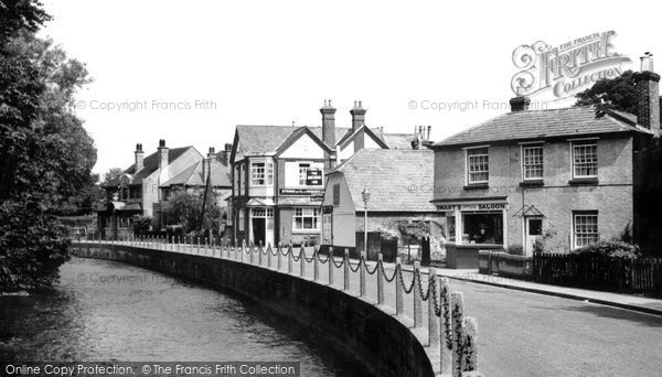 Photo of Bishopstoke, the Village c1955