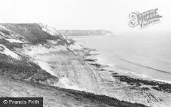 Bishopston, Gower Peninsula, Pwlldu c.1935