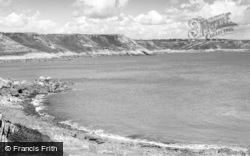 Bishopston, Pwll-Du Cove c.1960