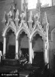 Bishopstone, Church Interior 1952