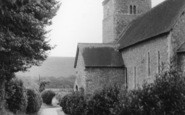 Bishopstone, St Andrew's Church c.1955