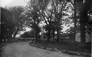 Bishopstone, The Corner c.1950