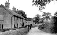 Bishopstone, White Row 1949