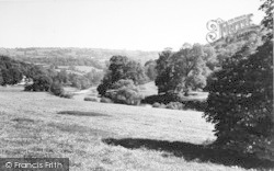 Bishopswood, From The Post Office c.1950, Bishop's Wood
