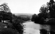 Bishopswood, The River Wye c.1950