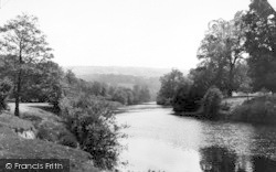 Bishopswood, The River Wye c.1950, Bishop's Wood