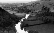 Bishopswood, The Wye From Yat Rock c.1960