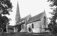 Bisley, All Saints Church 1910