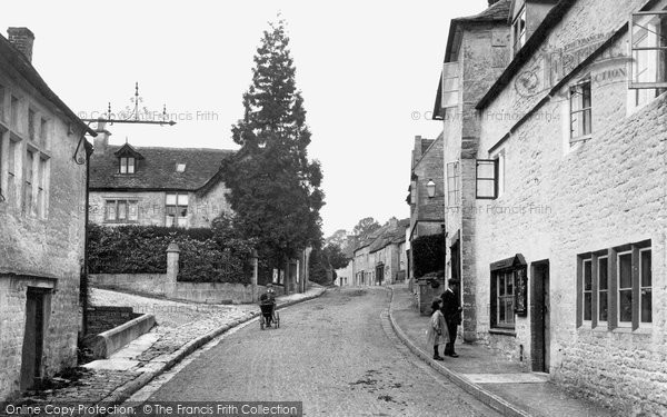 Bisley, High Street 1910