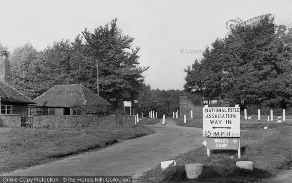 Bisley, Main Entrance, National Rifle Association c.1955