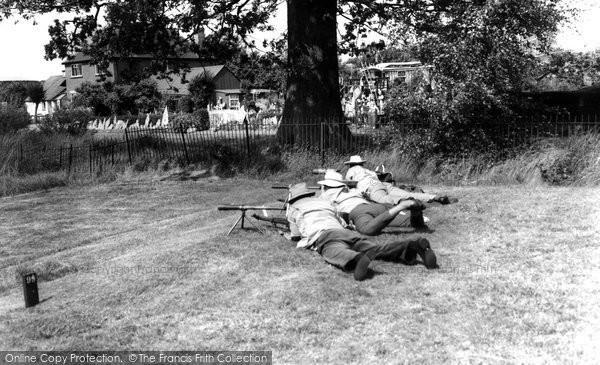 Photo of Bisley, Rifle Range c.1955