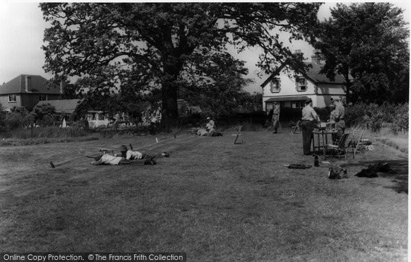 Photo of Bisley, Rifle Range c1955