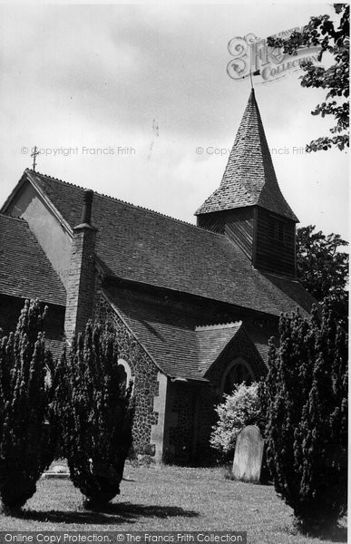 Bisley, St John The Baptist's Church c.1955