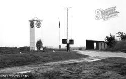 Bisley, The Clock Tower c.1955