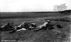 Bisley, The Nra Rifle Range c.1960