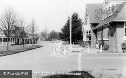 Bisley, The Pavilion And N.R.A. Offices c.1960