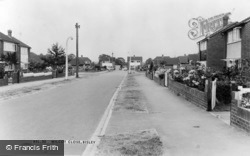 Bisley, Wilcot Close c.1960