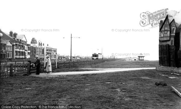 Bispham, Palm Court From The North c.1955