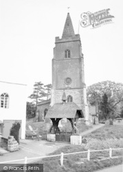 St Mary's Church And Lychgate c.1965, Bitteswell