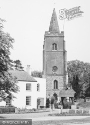 St Mary's Church c.1960, Bitteswell
