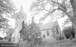 St Mary's Church c.1965, Bitteswell