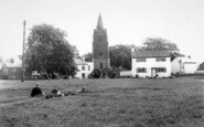 Bitteswell, St Mary's Church From The Green c.1960