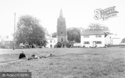 St Mary's Church From The Green c.1960, Bitteswell