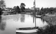 Bitton, The River Avon At Swinford c.1960