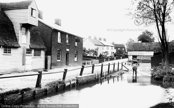 Street view, Black Notley. 1909 (Neg. 62127)  © Copyright The Francis Frith Collection 2005. http://www.francisfrith.com