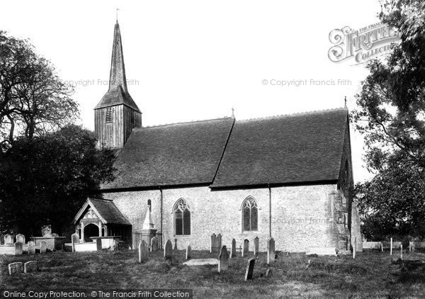 Black Notley, St Peter and St Paul's Church 1903, Essex.  (Neg. 50580)  © Copyright The Francis Frith Collection 2005. http://www.francisfrith.com