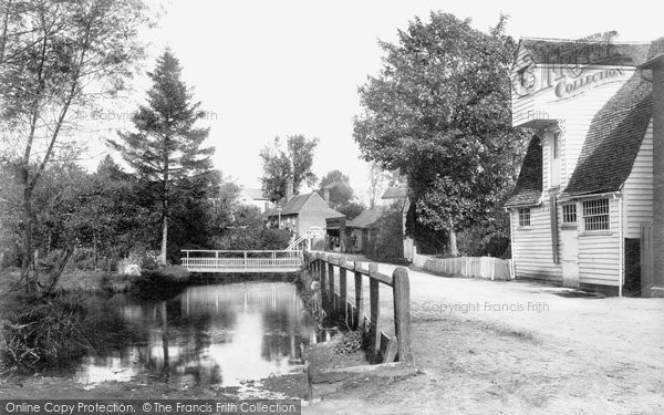 Black Notley, The Watermill 1903
