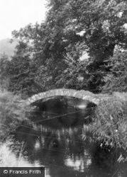 Black Pill, The Roman Bridge And River c.1955