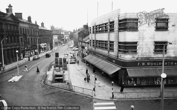 Blackburn, Church Street c1955