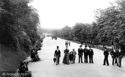 Blackburn, Corporation Park 1895