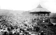 Blackburn, Corporation Park, Bandstand 1923