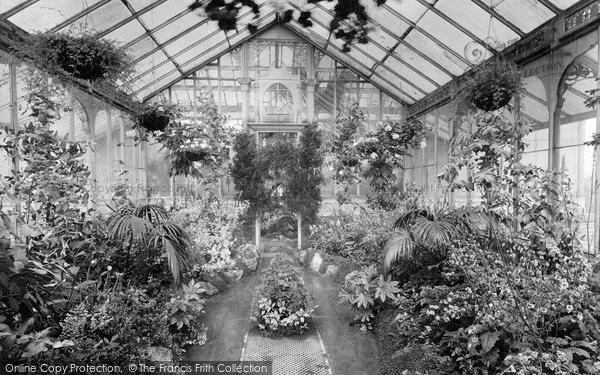 Blackburn, Corporation Park, Conservatory 1923