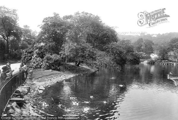 Blackburn, Corporation Park Lake 1923