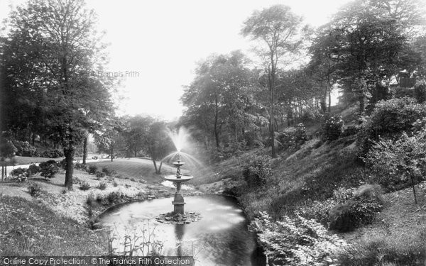 Blackburn, Corporation Park, The Dingle 1923