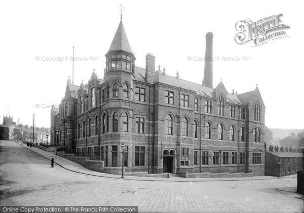Blackburn, Darwen Technical School 1895