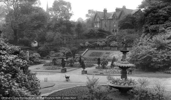Blackburn, Memorial Gardens c.1955